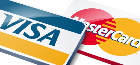 Оплата тренинга с помощью Visa или MasterCard